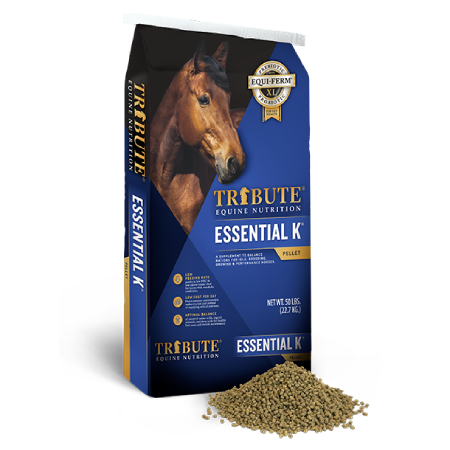 essential k horse feed tribute