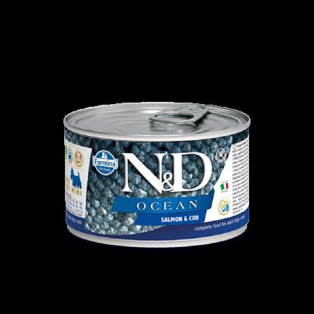 Farmina N&D Ocean: Salmon and Cod Adult Mini Wet