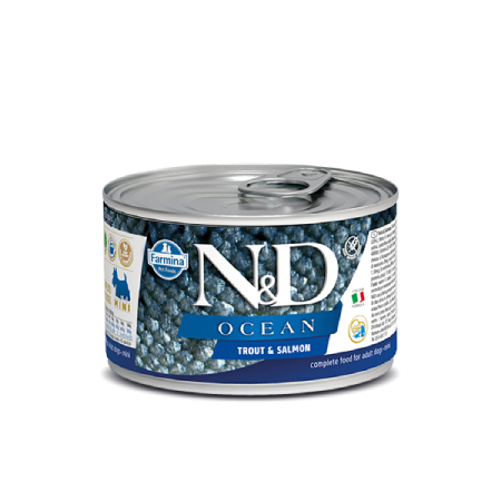 Farmina N&D Ocean: Trout and Salmon Adult Mini Wet