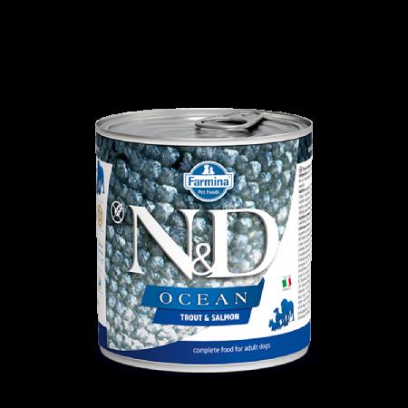 Farmina N&D Ocean: Trout and Salmon Wet