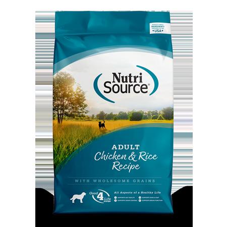 Nutri Source Adult Chicken & Rice Dog Food