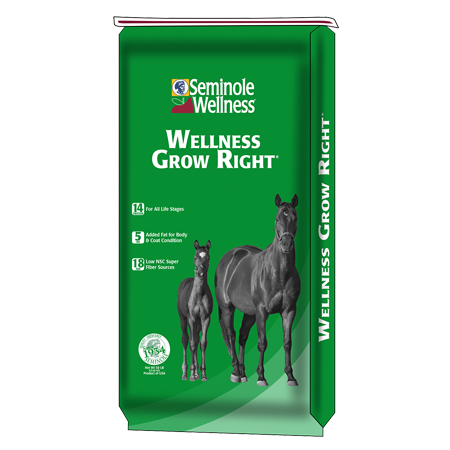 Seminole Wellness Grow Right Horse Feed