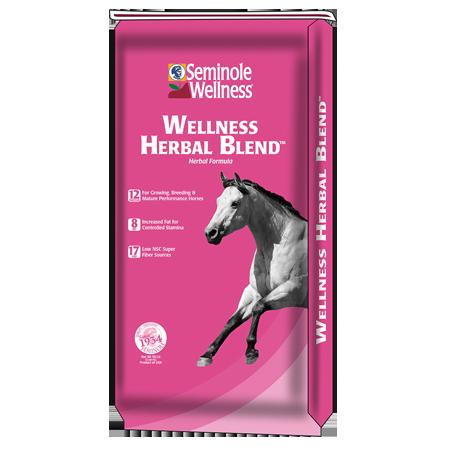Seminole Wellness Herbal Blend Horse Feed