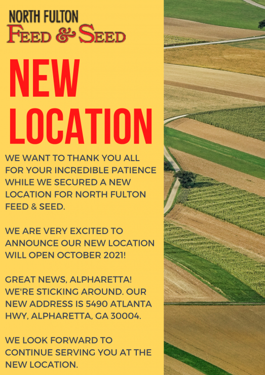 New North Fulton Feed & Seed Location